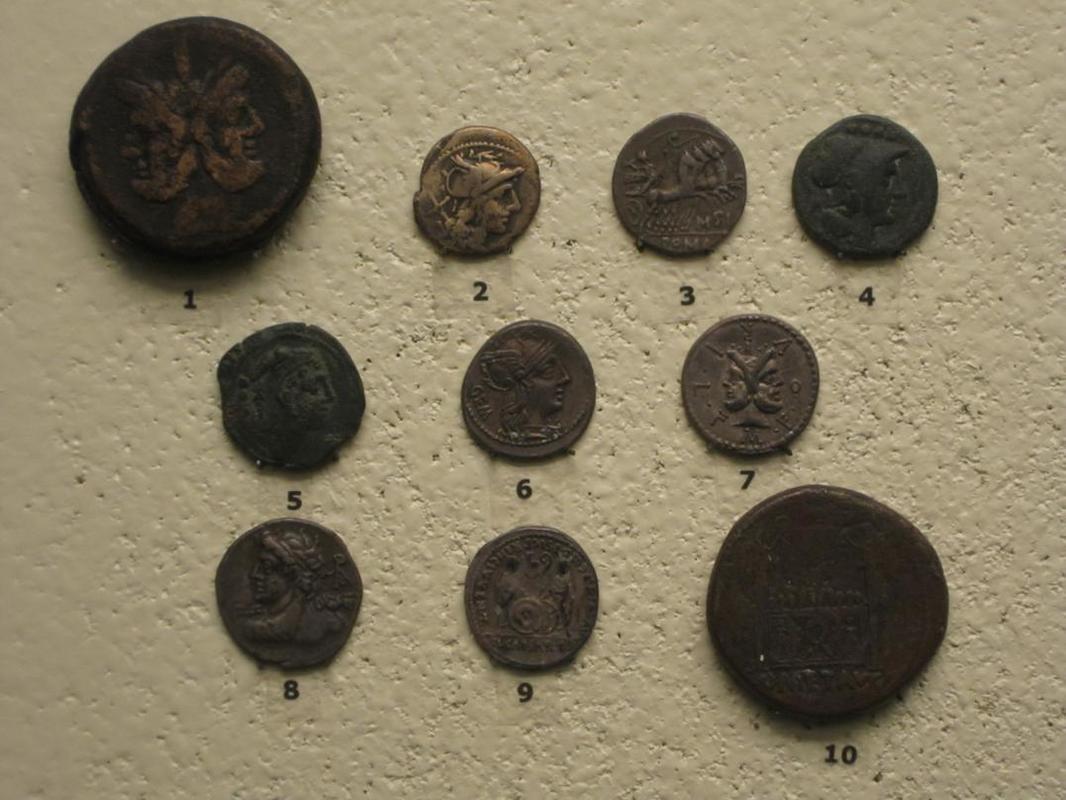 Sección numismática museo de Cádiz Cadiz9