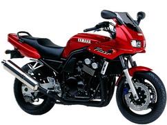 Orígen, historia y evolución | Yamaha FZ6 - Fazer 1999_Rojo