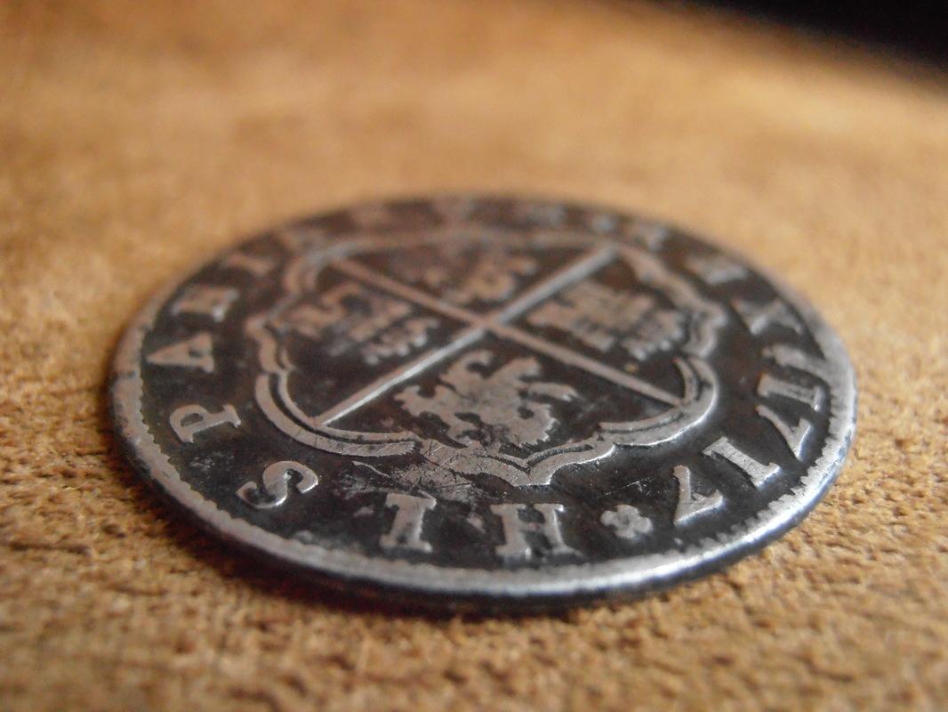 2 reales Felipe V,ceca de  Segovia 1717. P3150015
