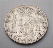 8  reales  de Carlos III. 1779  MEJICO -FF 1779_2