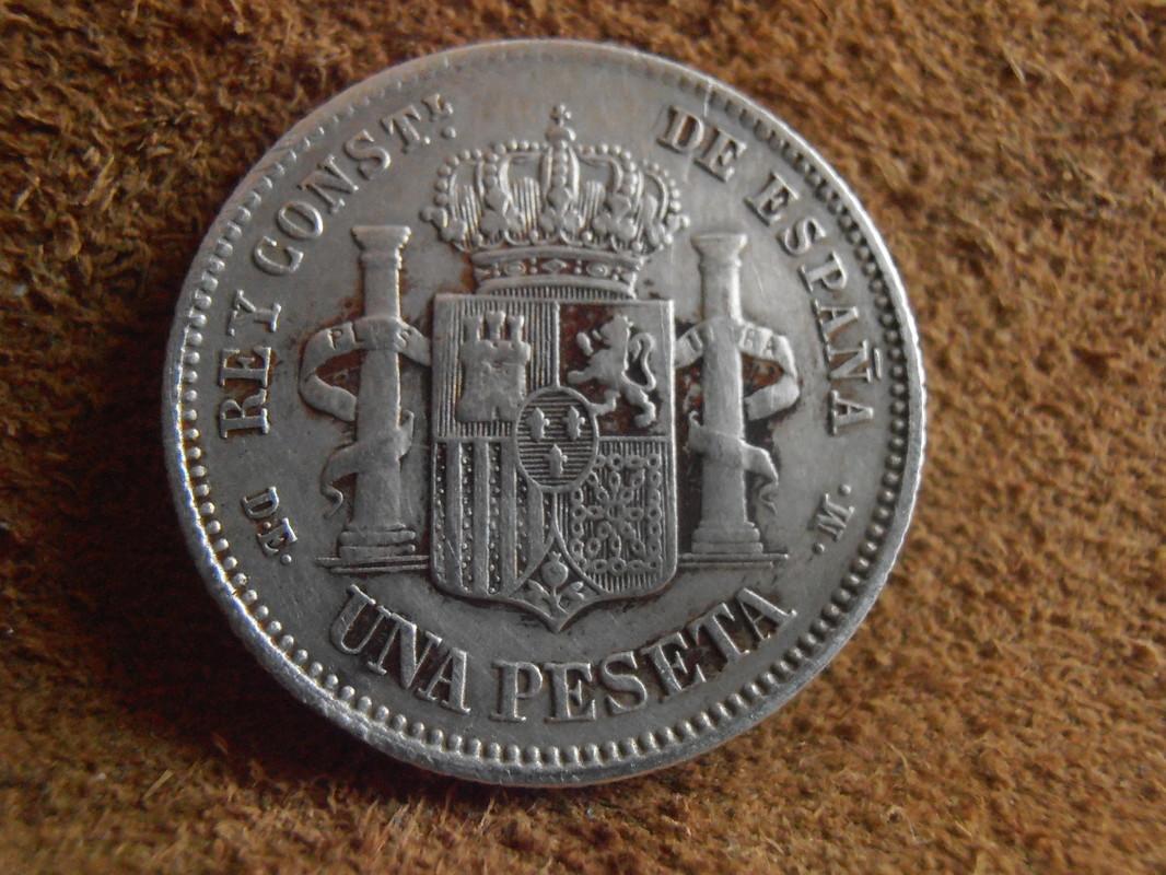 1 peseta 1876. Alfonso XII P3200021