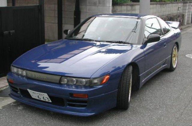 Nissan Silvia History Nissan_sileighty