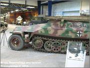 Немецкий средний бронетранспортер SdKfz 251/7  Ausf D,  Musee des Blindes, Saumur, France 251_7_Saumur_065
