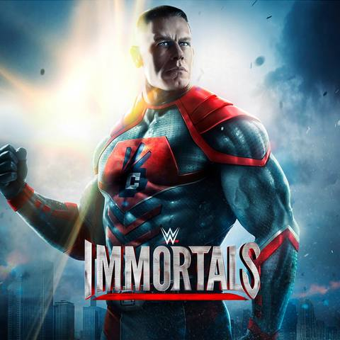 The first look of WWE Immortals characters. 10911423_1584817211738270_173401117126747617_o_j