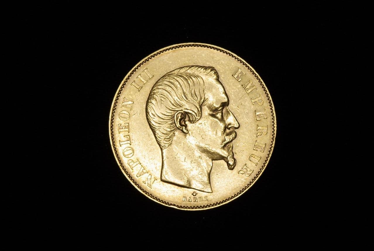 Napoleon III 50 francos 1855 Imagen_238