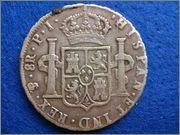 8 Reales 1808 Carolus IIII Potosi PJ 8_reales_1808_Carlos_IV_Potos_Reverso