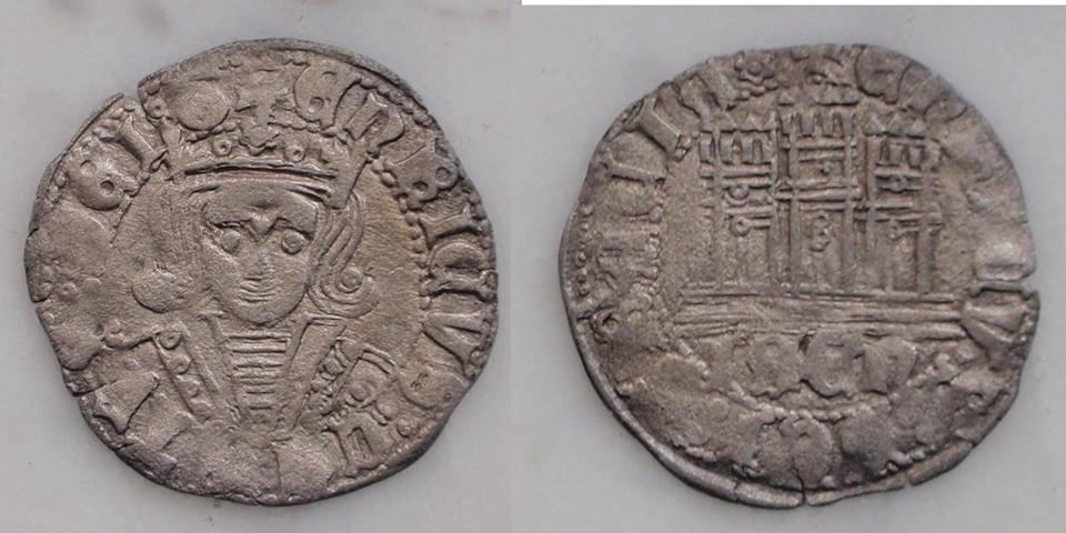 Medio cuarto de Enrique IV - Jaén Octavojaenenriv