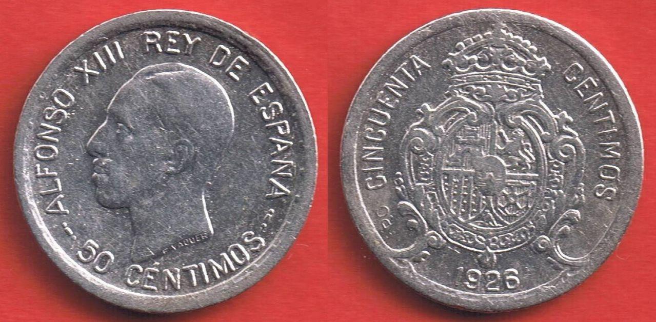 Duda 50 céntimos 1926. Alfonso XIII. 50_c_ntimos_1926_5