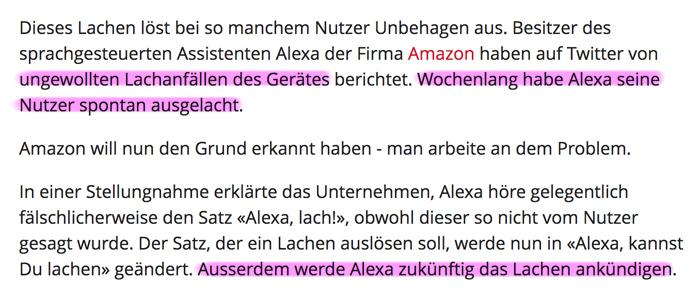 Technologie 'above' – wenn 'sie' uns zeigen, was 'sie' wirklich draufhaben! - Seite 4 Alexa_lacht