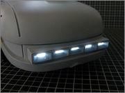 FUJIMI Police Spinner + Custom Set (Blade Runner) 16_FSpinner_back_LED