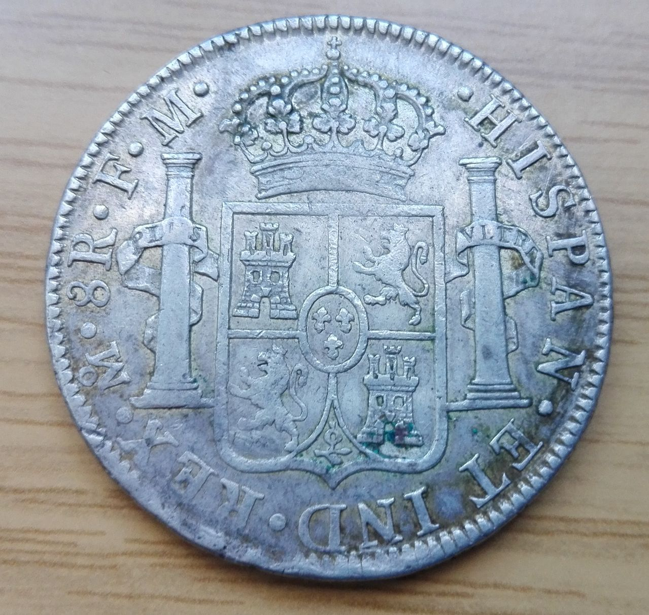 8 reales 1786, Méjico, Carlos III 8_resles_1786_3