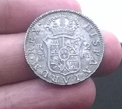 2 reales 1807, Madrid Carlos IV WP_20160207_012