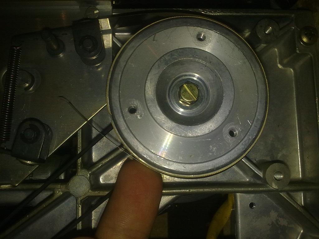 Revox A77 fita metalica do travão direito partiu Rev1