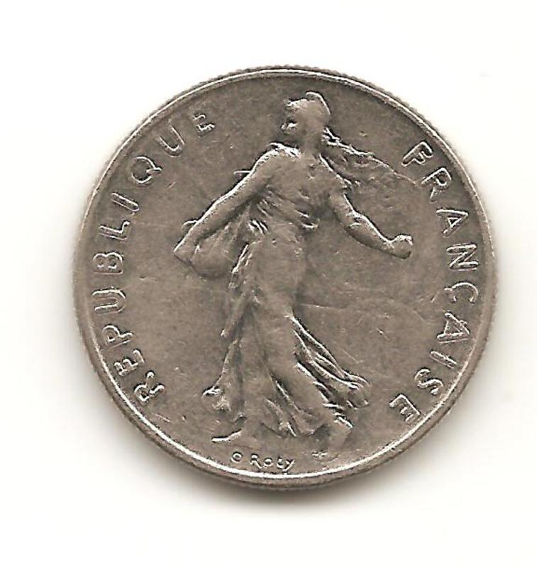 1/2 franco de 1978 de Francia  Image