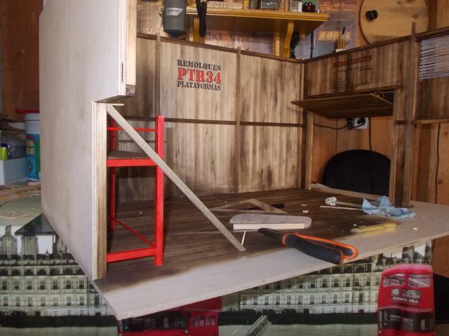 "Diorama: taller mecánico ""de toda la vida"" escala 1/10 DSCN4728"