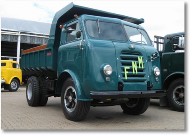 Vintage camion in vendita in Brasile FNM_4