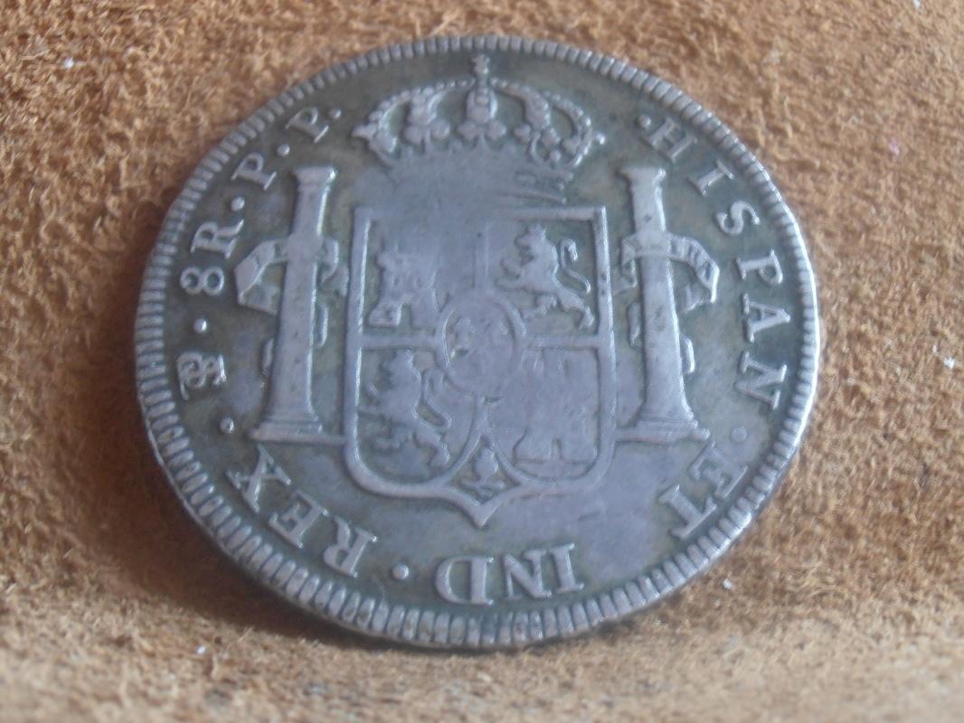 8 Reales 1800 Carlos IV. Potosí P9018604