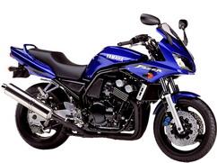 Orígen, historia y evolución | Yamaha FZ6 - Fazer 2002_Azul