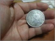 5 pesetas 1893.*18-93* Alfonso XIII - P.G.V.- 20131106_191508