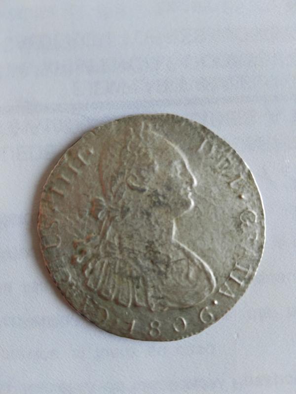 8 Reales Carlos IV. Guatemala.1806 Carolusii
