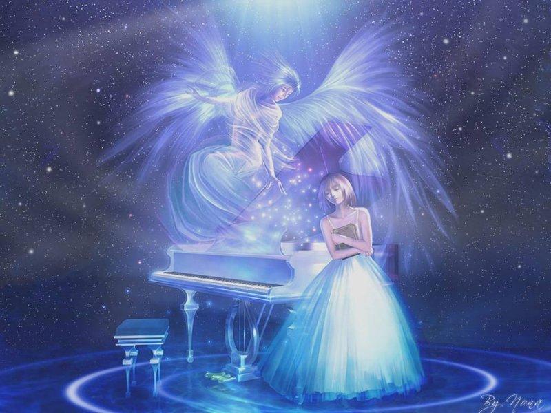 Арты на тему : Ангелы 6c5b6dc361a3