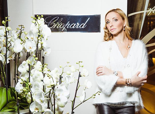 Татьяна Навка - официальный посол бренда Chopard C3d0890cdfe9