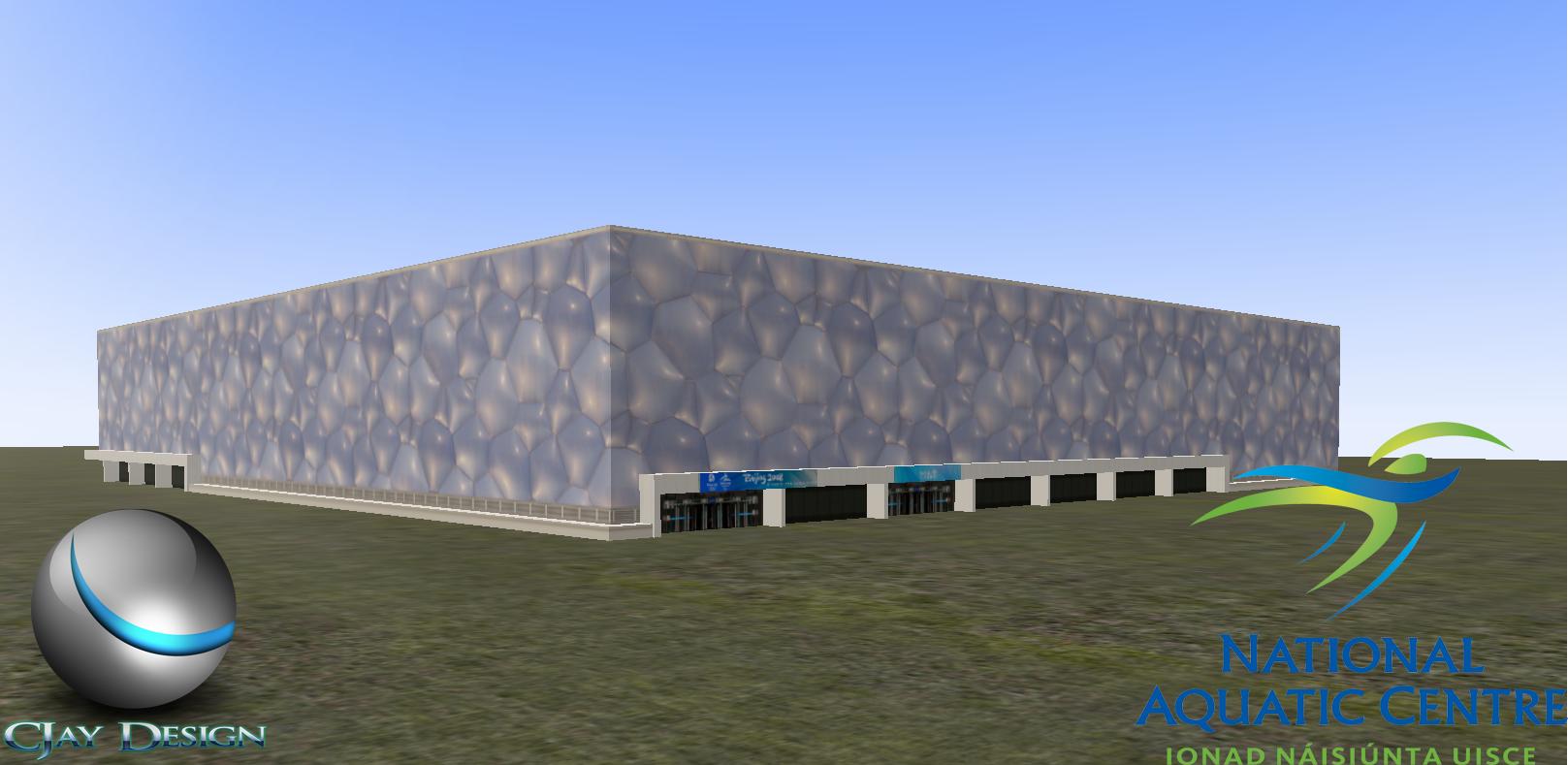National Aquatics Center 7u5mtbux