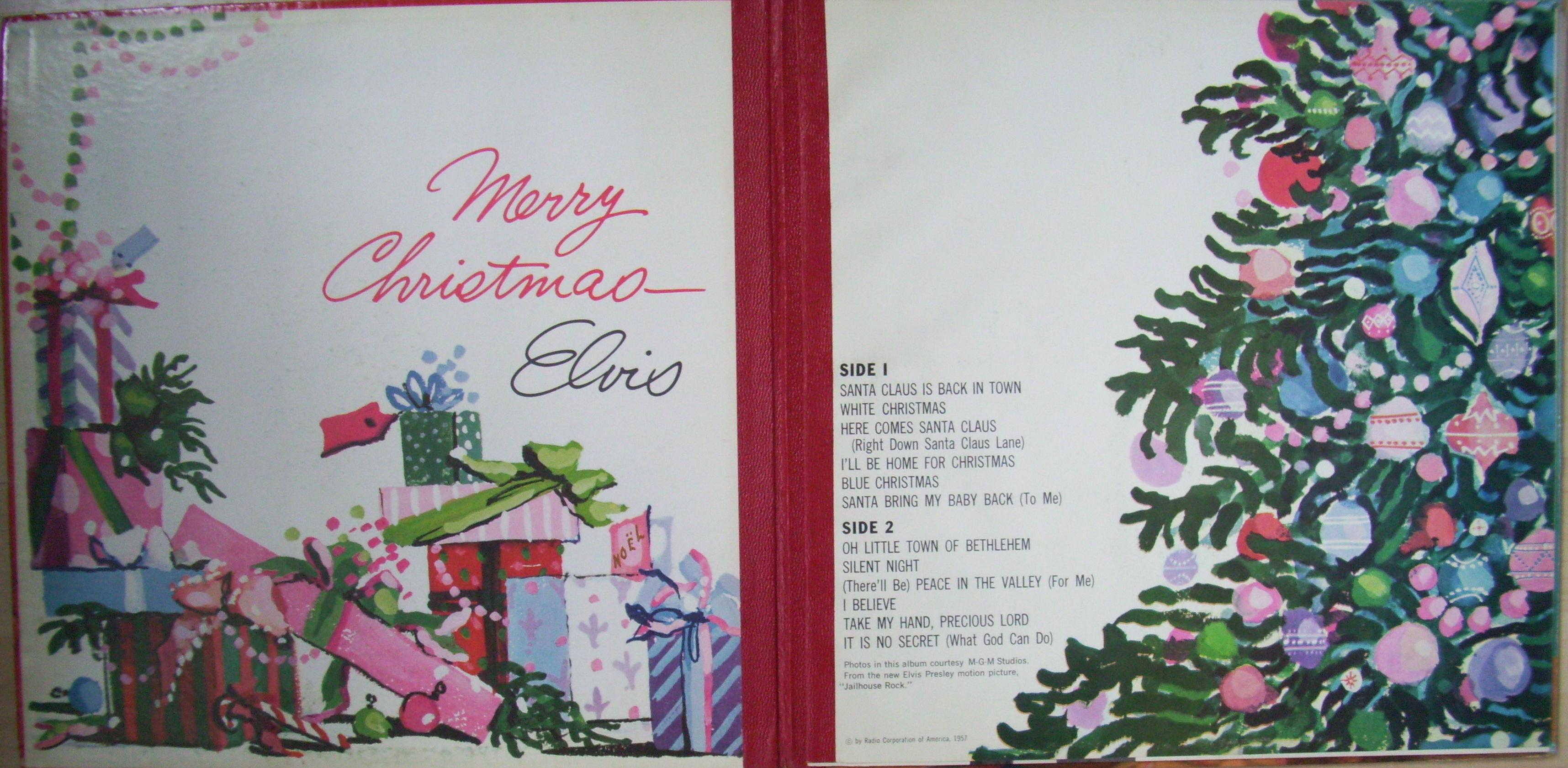 ELVIS' CHRISTMAS ALBUM A6os64br