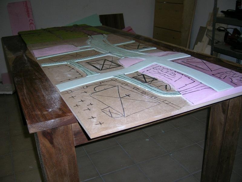 Bauprojekt Spielplatte (pseudomodular - Landschaft mit Ortseinfahrt) Y82snj5n