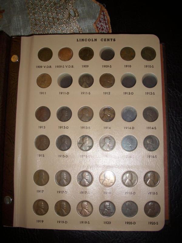 Coleccion Centavos Lincoln 1909-2016 IMG_2604