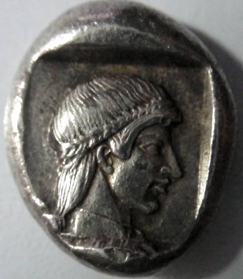 Dracma Caria (Knidos). Siglo V a.C. Caria_R