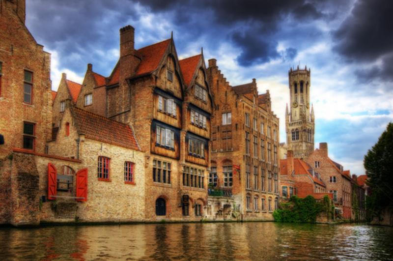 1 Patagón 1655. Felipe IV. Brujas. La Capital del Condado de Flandes. Bruges_1