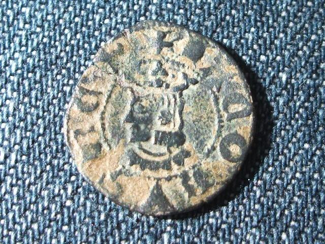 Dinero de Barcelona. Jaime II de Aragón. (1291-1327).  010
