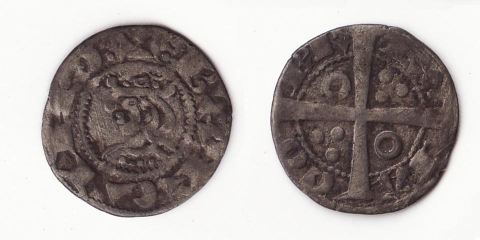 Dinero de tern. Jaime I (1213-1276) Barcelona Jaume_I_2