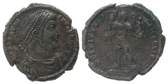 Denominación de monedas en la antigua Roma: El Bajo Imperio. Image