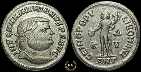 Denominación de monedas en la antigua Roma: El Bajo Imperio. 0_0follis_1