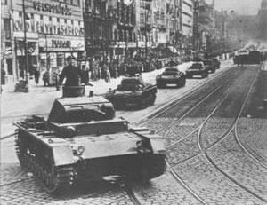 Desintegración de Checoslovaquia (15-3-1939)  Bohemia2