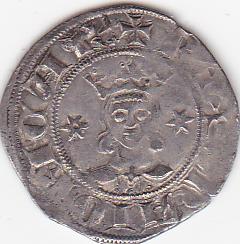 Dobler de Sancho I. Rey de Mallorca, 1311-1324. Impresionante. Dobler