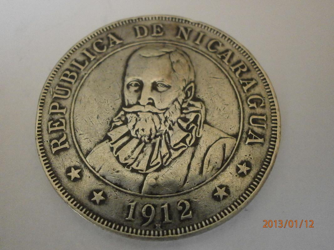 1 Cordoba. Nicaragua. 1912 P1120016