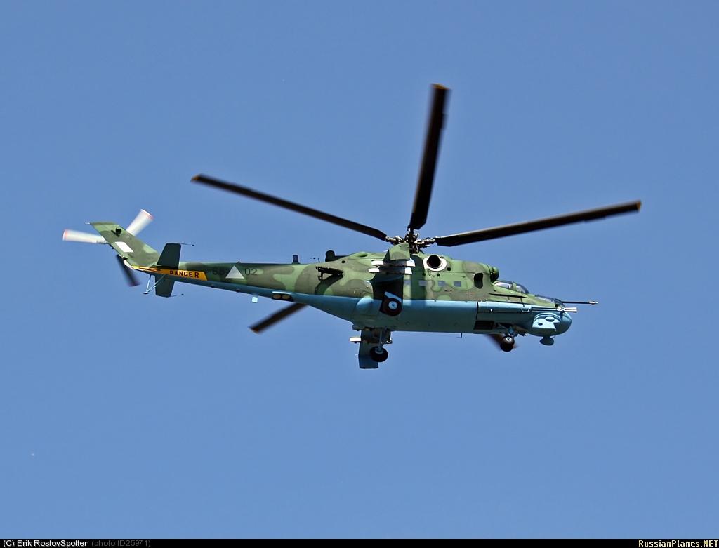 Forces armées birmanes/Myanmar Armed Forces/Tatmadaw Mi_24_P_Hind_F_68_02_08_10