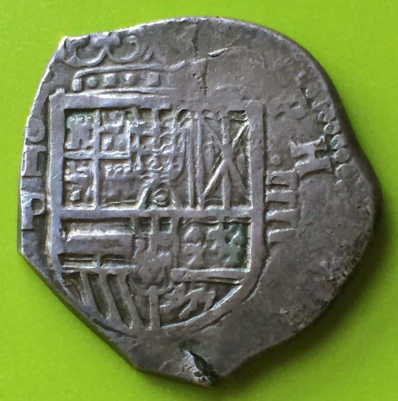 4 reales Felipe III a martillo, ceca de Toledo 1619 Image