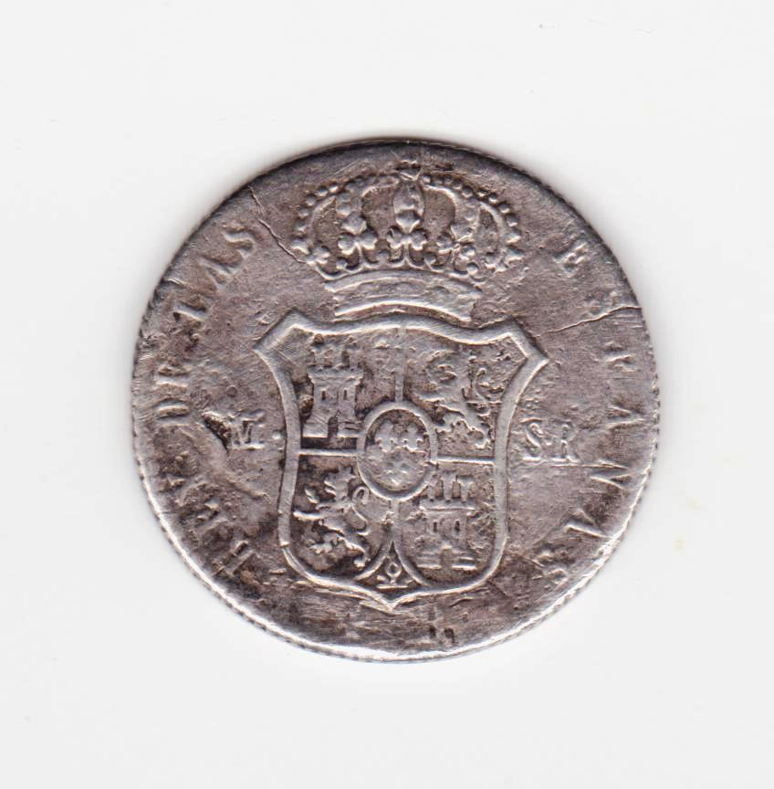 4 reales 1823 Madrid, Fernando VII 2_reales_1823_001
