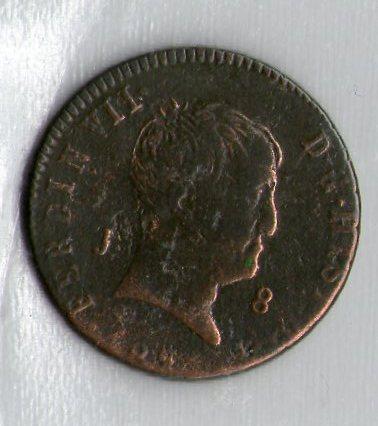 8 maravedis 1824 cara