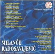 Milance Radosavljevic - Diskografija 2001_b