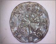 Dinero de Alfonso VI (1072-1109) de Toledo 349a