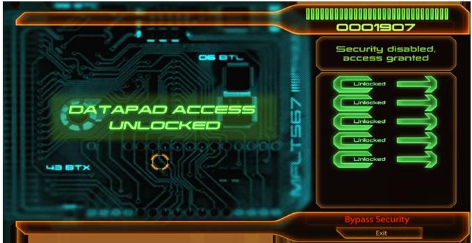 Datapad Unlocked