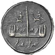 Glosario de monedas romanas. CONTORNIATO. Image