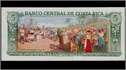 5 Colones Costa Rica, 1992 Independencia2