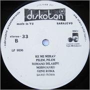 Haris Dzinovic  - Diskografija  Haris_Dzinovic_1981_s_B