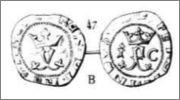 Blanca a nombre de los Reyes Católicos. Cuenca Captura